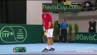 Dominic Thiem smashes Racket in 5th ...