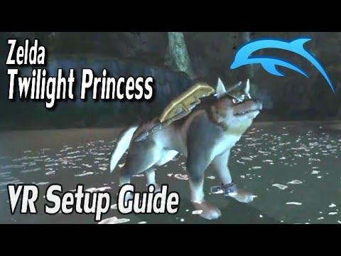 Zelda Twilight Princess Dolphin VR Guide - Oculus Rift & Steam VR