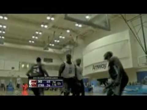 NBA Summer League 2010 - Jazz vs Pacers