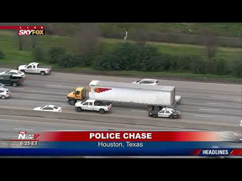 THREE IN CUSTODY: Following Police Chase in Houston, Texas (FNN)
