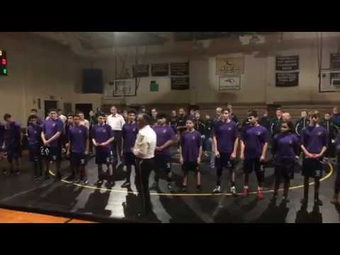 'Down, up, down, up' goes chant as Holyoke police, school wrestlers do push-ups to help veterans (video)