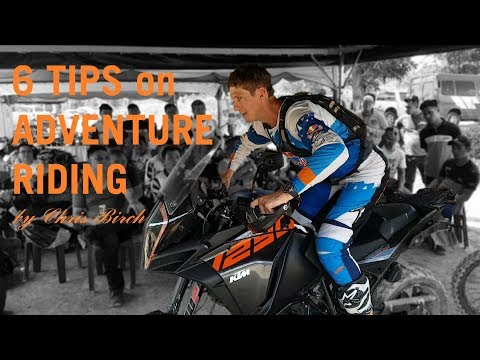 6 Tips on Riding Adventure Bike Off-road by Chris Birch