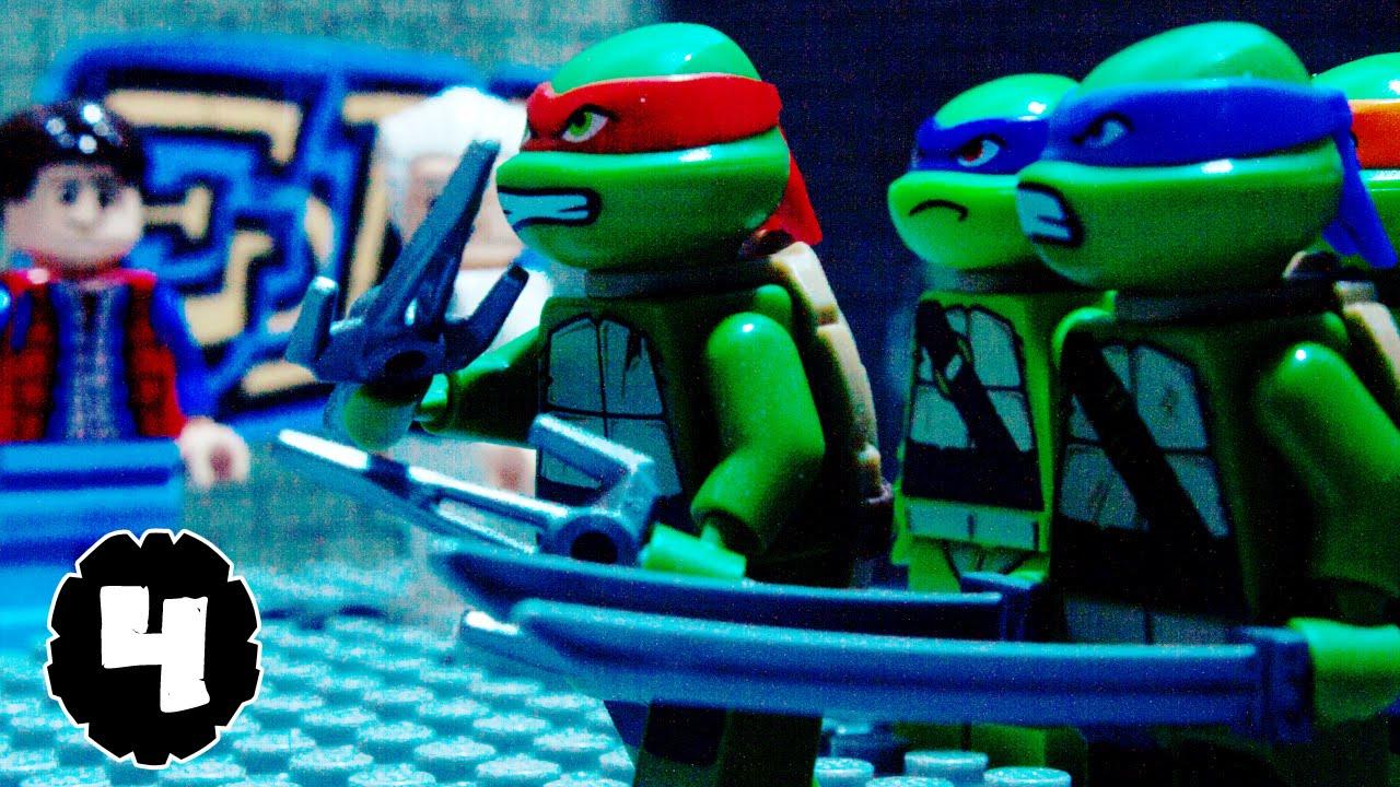 lego tmnt teenage mutant ninja turtles episode 4 youtube. Black Bedroom Furniture Sets. Home Design Ideas