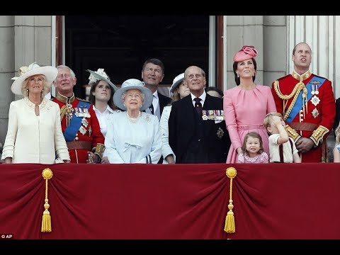 Trooping the Colour 2017: Queen Elizabeth Birthday ...