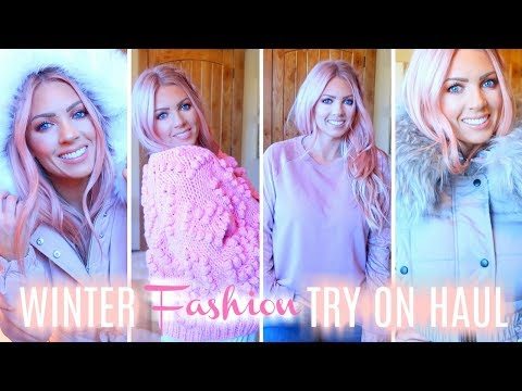 ❄️ WINTER FASHION TRY ON HAUL | Boohoo, American Eagle & Chicwish