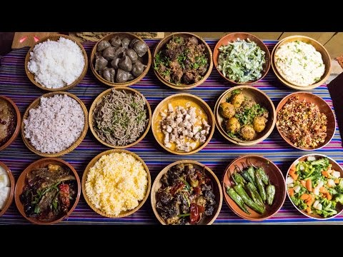 Traditional Bhutanese Food and Attractions in Thimphu, Bhuta