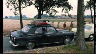 Jean- Luc Godard weekend car scene