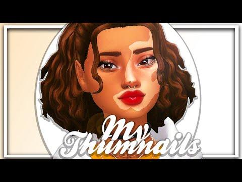 🌟 HOW I CREATE MY THUMBNAILS 📷  W/ PHOTOSHOP   Sims 4 Thumbnail Tutorial 🖼️