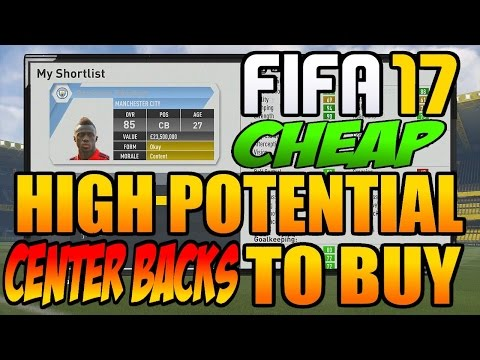 FIFA 17 Career Mode Best Cheap Young Center Backs To Buy: 99 PACE OP DEFENDERS!