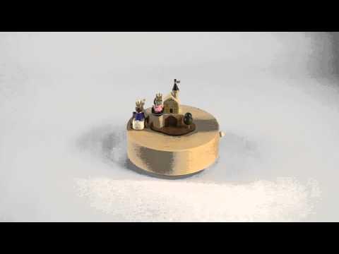 Wooderful Life Handmade Prince Charming Music Box