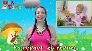 Es regnet, es regnet | Kinderlieder zum Mitsingen mit Text | Německé dětské písně