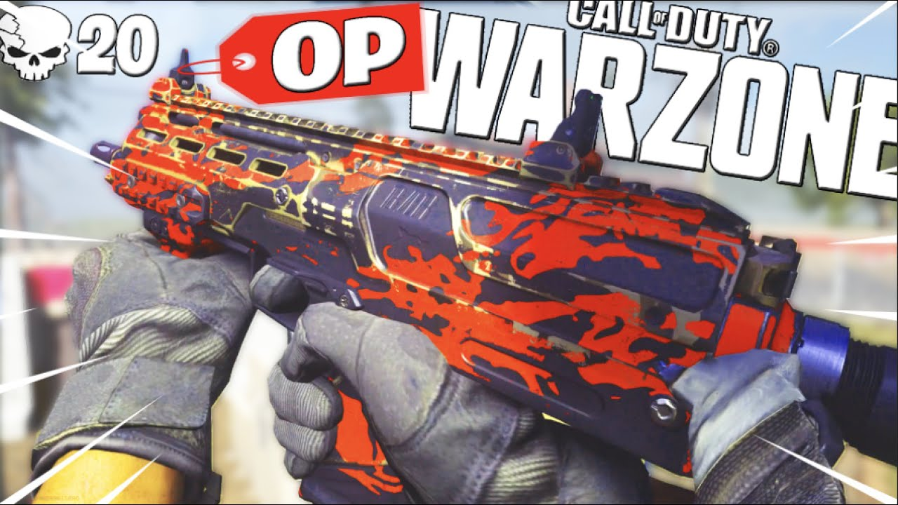 "the ""OVERPOWERED MP7"" CLASS SETUP in WARZONE.. (MODERN WARFARE BATTLE ROYALE)"