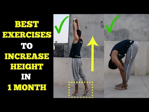 4 Easy Exercises To Increase Height In 1 Month