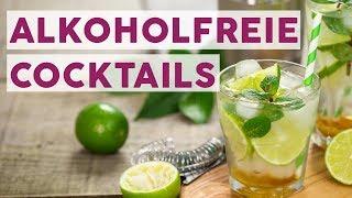 5 alkoholfreie Cocktails mit wenigen Zutaten 🍹 | REZEPTE
