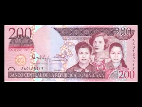 All Dominican Peso Banknotes - 2006 to 2010 Issues