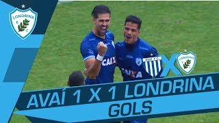 GOLS - AVAÍ 1 x 1 LONDRINA