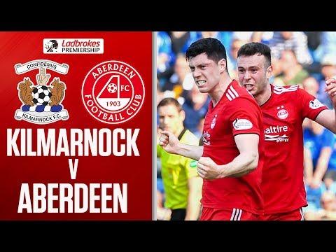 Kilmarnock 0-1 Aberdeen | Three Red Cards as Dons Leapfrog 8-Man Kilmarnock | Ladbrokes Premiership