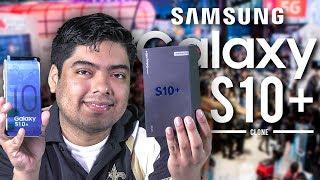 Unboxing Samsung Galaxy S10+ Clone (Español)