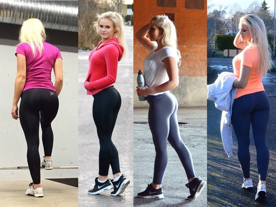 Anna Nystrom - Girls in Yoga Pants and Gym Workout Routines - YouTube