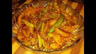 Aloo parwal ki sukhi sabji recipe