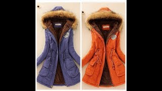 Одежда с AliExpress - Женская парка