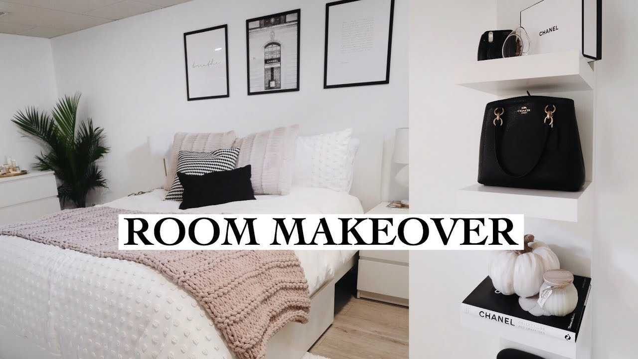 Extreme Bedroom Makeover Room Tour Youtube