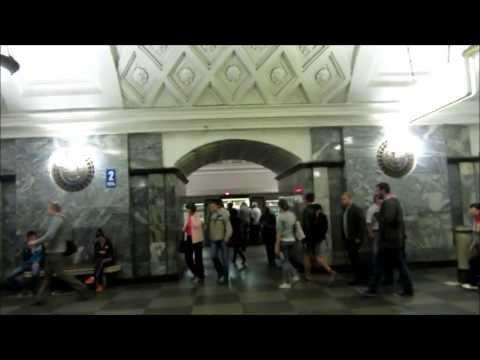 Московское Метро!! The Moscow Metro
