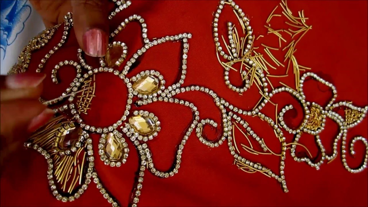How To Hand Work Embroidery Designs