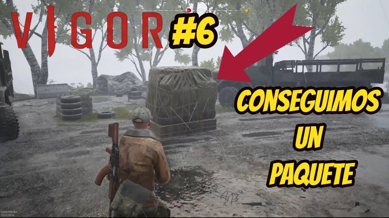 Vigor Preview Gameplay -Conseguimos un Paquete del AVIÓN - Xbox / PC
