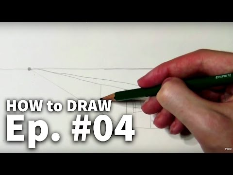 Learn to Draw #04 - One-Point Perspective