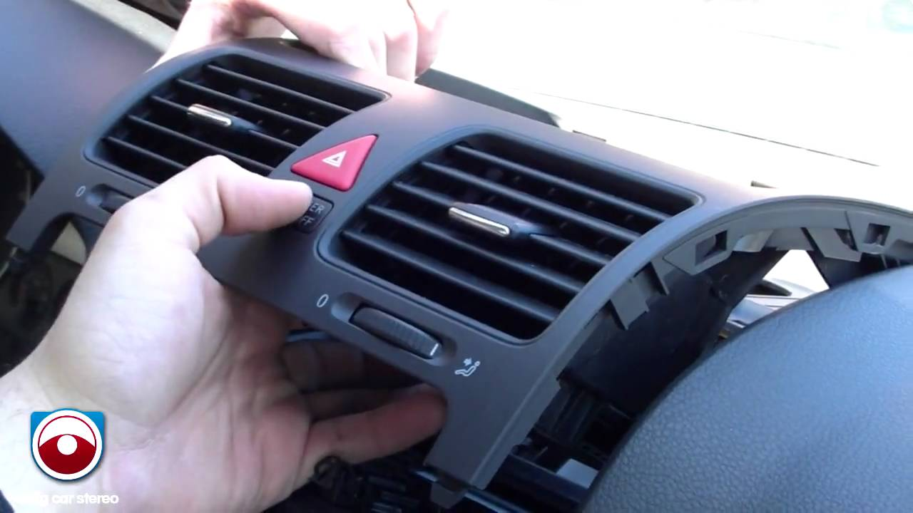 2009 Vw Tiguan Radio Wiring Diagram Shunt Trip Square D 2006 Volkswagen Jetta Removal Youtube