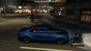 Watch Dogs PC Ultra Gameplay rainy night