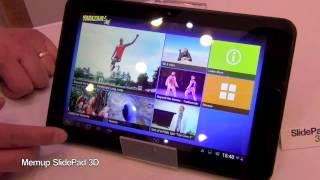 Tablette Memup SlidePad 3D - presentation FR