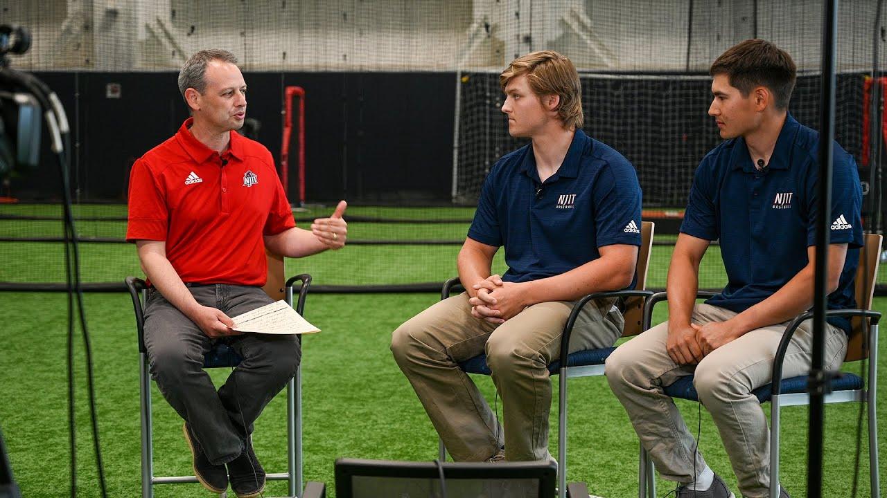 NJIT 2021 Baseball #AEPlayoffs Preview: Ryan Fischer and Albert Choi