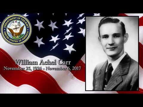 William Achel Carr Keepsake Video