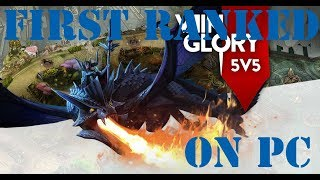VAINGLORY - FIRST RANKED GAME ON PC 100% WINRATE