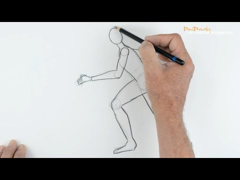 Draw People: Part 2 - Running Figure