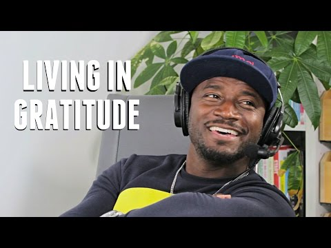 Taye Diggs on Living In Gratitude with Lewis Howes