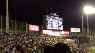 2014年8月7日 @神宮球場 東京ヤクルトスワローズvs阪神タイガース.