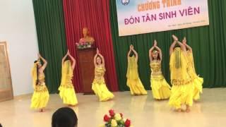 Múa Ấn độ- tempation- lớp 40C trường Cao Đẳng Sư Phạm