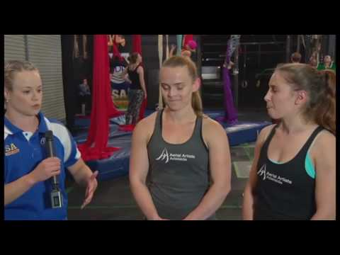 SA Sports Show: Aerial Artists Adelaide with Rachel Bugg