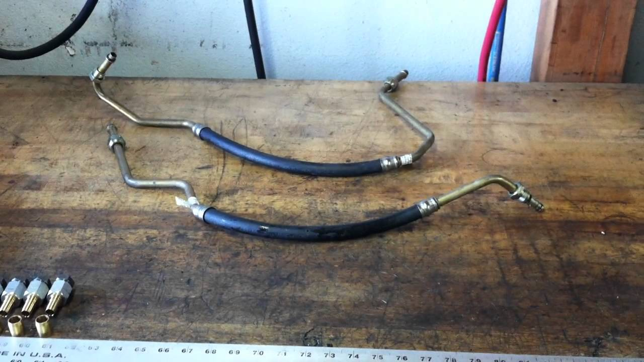 Land Rover Oil Lines Part 1 Youtube