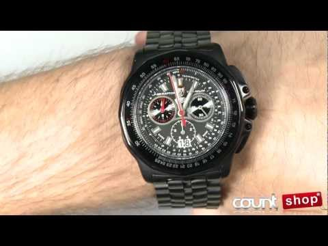 b6ea1a0c91fb Luminox F-22 Raptor Titanium Chronograph 9272 - review by DiscountShop.com  - YouTube