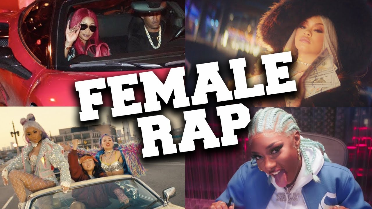 Top 50 Most Popular Female Rap Songs 2020 (until May)