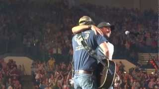 Luke Bryan and David Lee Murphy - Dust On The Bottle (3/22/13)
