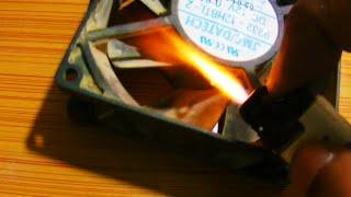 Hack pc cpu/chasis fan: Turn slow fan into blazing fast