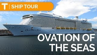 OVATION OF THE SEAS: Complete TOUR & REVIEW Cabin/Food/Activities