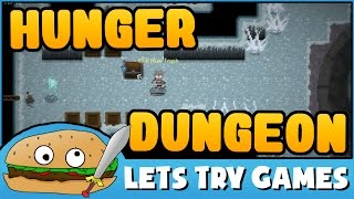 HUNGER DUNGEON 🎮 A Free To Play Pixel Puncher 🍔 Lets Try Games 🍔
