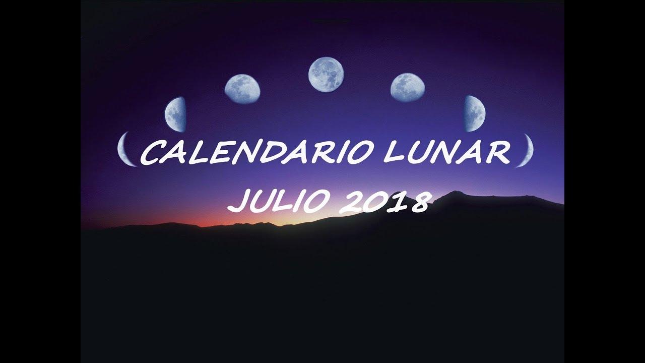 Calendario Julio 20019.Calendario Lunar Y Fechas Eclipses Julio 2018