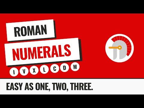 Roman Numerals: The Epic Guide